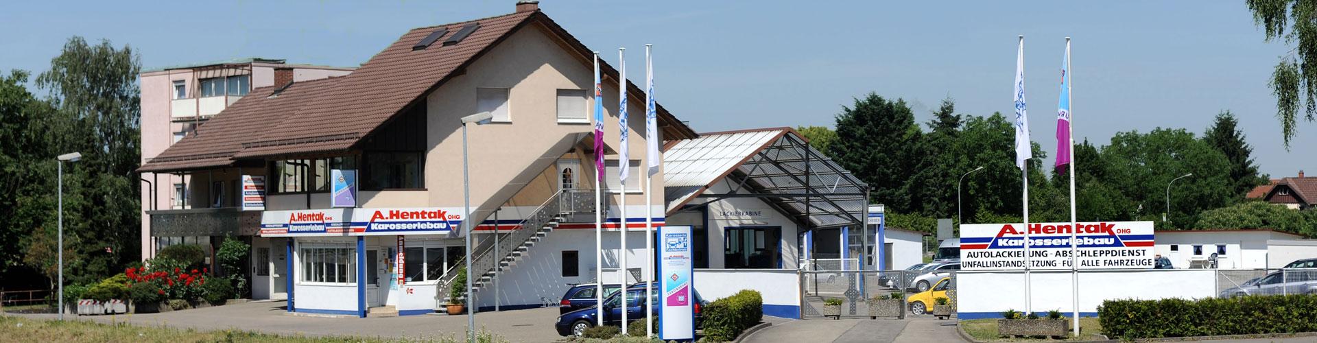 Karosserie Meisterwerkstatt Hentak OHG in Offenburg