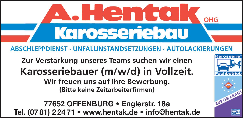 Stellenanzeige-Karosseriebauer Karosseriebauer (m/w/d) in Offenburg in Vollzeit gesuch